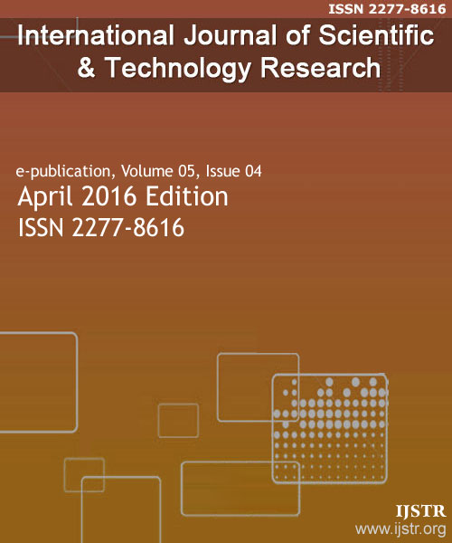 IJSTR - April 2016 - Volume 5 Issue 4