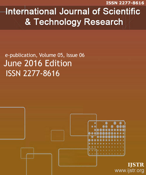 IJSTR - June 2016 - Volume 5 Issue 6