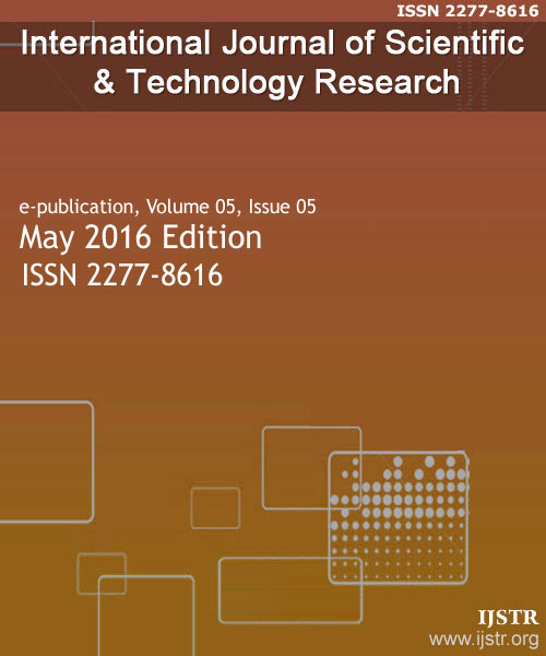 IJSTR - May 2016 - Volume 5 Issue 5