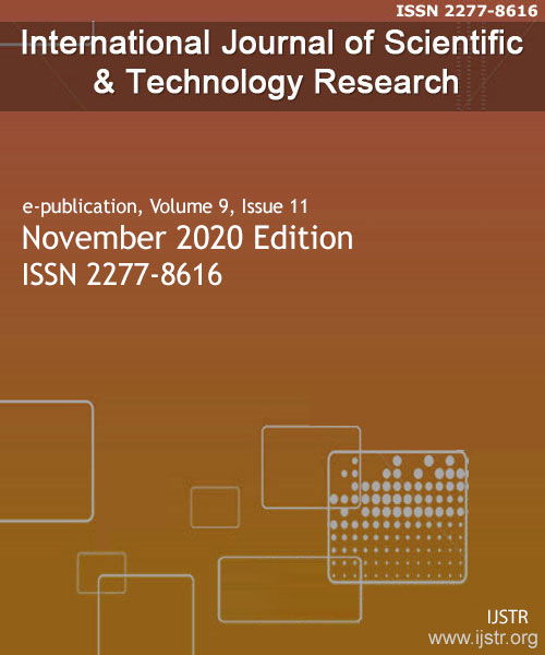 IJSTR - November 2020 - Volume 9 Issue 11