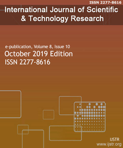 IJSTR - October 2019 - Volume 8 Issue 10