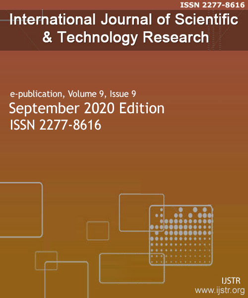 IJSTR - September 2020 - Volume 9 Issue 9