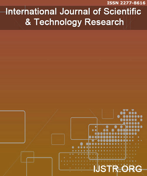 International Journal of Scientific & Technology Research