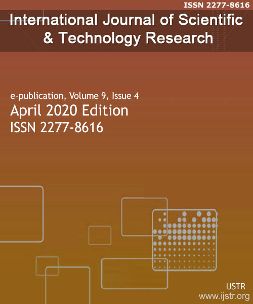 IJSTR - April 2020 - Volume 9 Issue 4