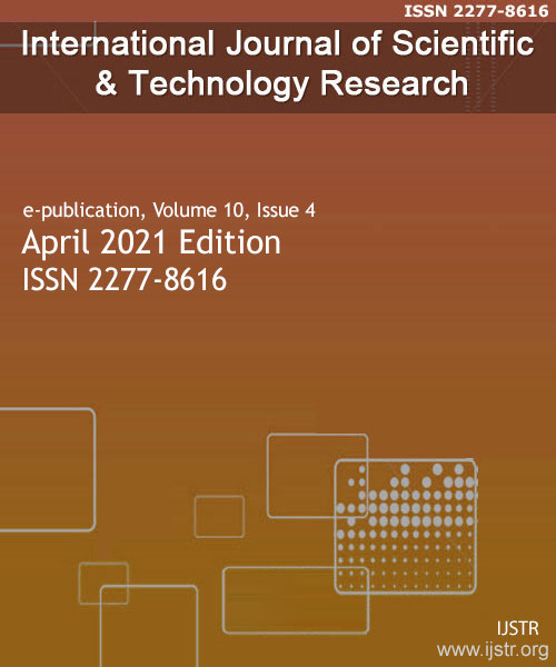 IJSTR - April 2021 - Volume 10 Issue 4